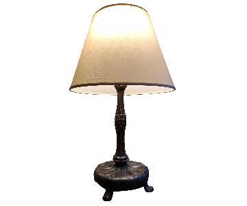 Antique Cast Art Nouveau Dimmer Lamps