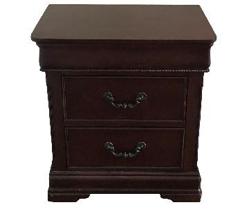 Raymour & Flanigan 2-Drawer Wooden Nightstands