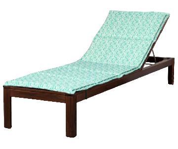 Ikea Applaro Outdoor/Patio Chaise w/ Cushion