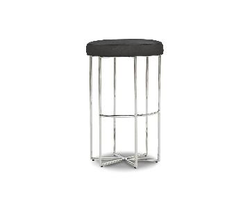 Mitchell Gold + Bob Williams Astra Bar Stool in Alloy-Pewter