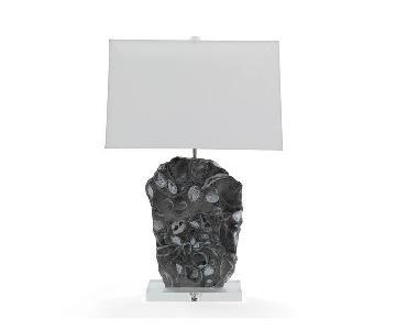 Mitchell Gold + Bob Williams Moran Green Marble Table Lamp