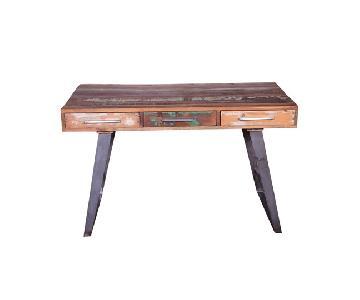 DesigneGallerie Josie Wooden Writing Desk
