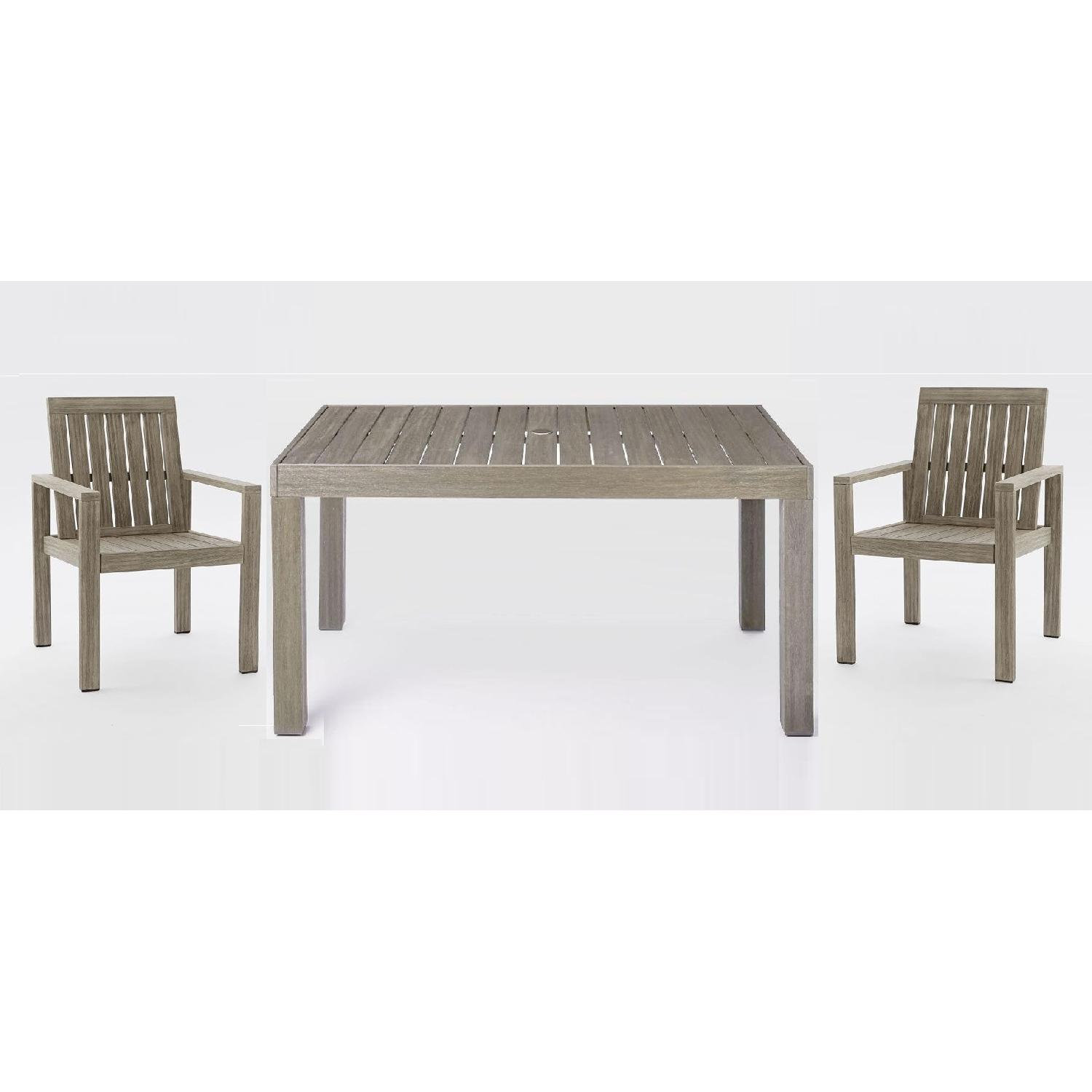 west elm patio furniture. West Elm Portside Outdoor/Patio Table W/ 2 Chairs Patio Furniture N