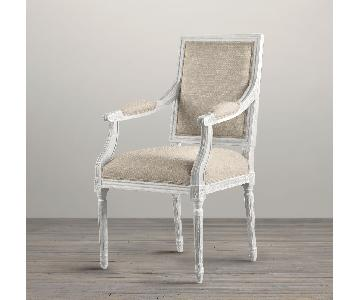 Restoration Hardware Vintage French Dining Armchair
