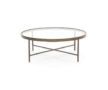 Mitchell Gold + Bob Williams Vienna Brass Cocktail Table