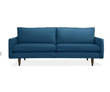 Room & Board Jasper Sofa in Tatum Blue