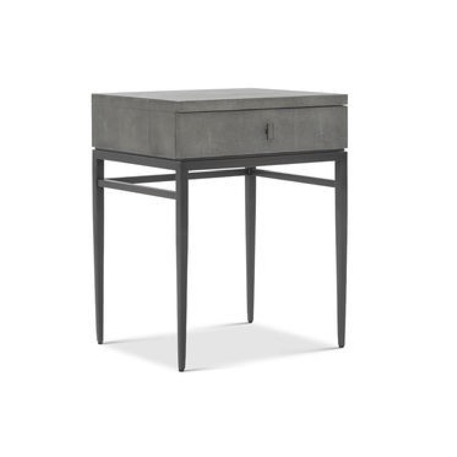 Mitchell Gold + Bob Williams Solange Side Table in Gray
