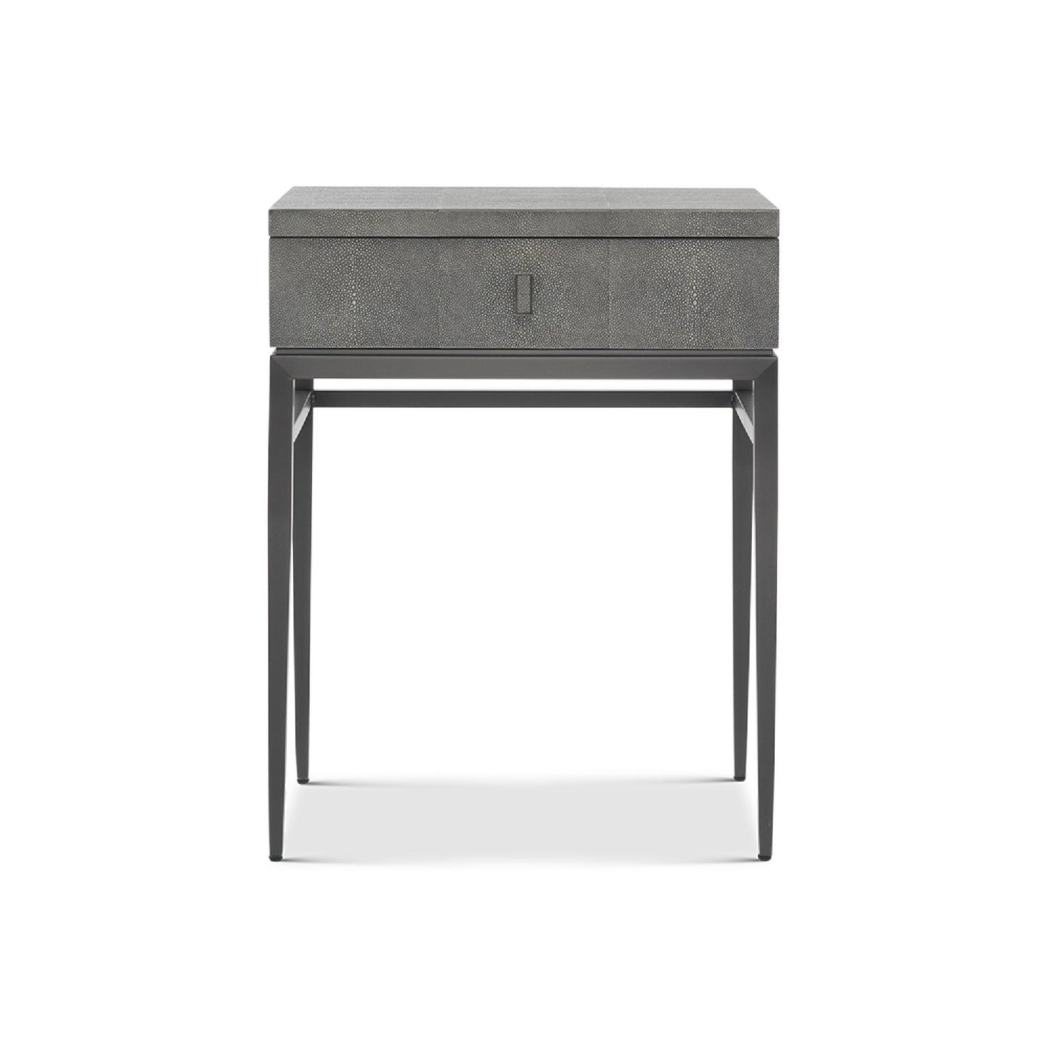Mitchell Gold + Bob Williams Solange Side Table in Gray-1