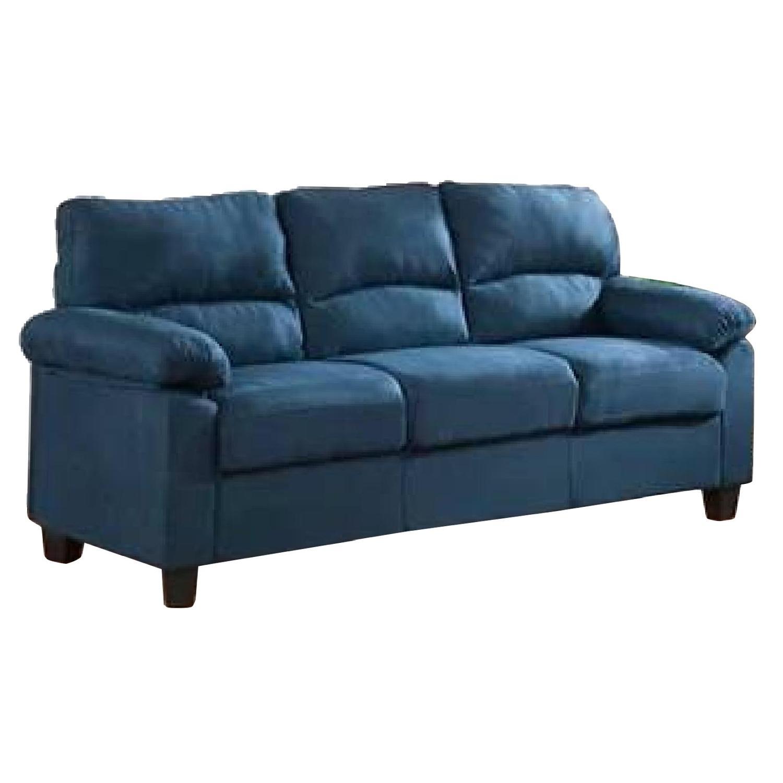Red Barrel Studio Girardeau Blue Sofa ...
