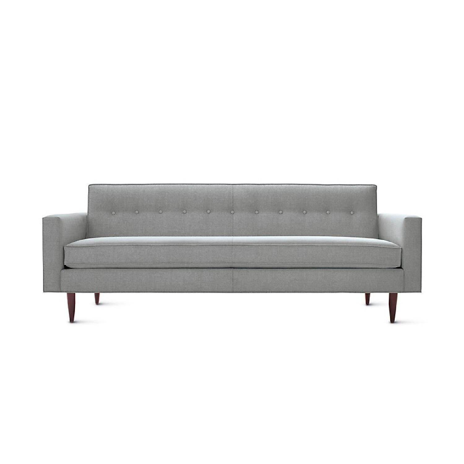 Design Within Reach Bantam Sofa in Light Grey Ducale AptDeco