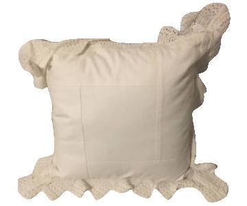 Ralph Lauren Ivory Pillow