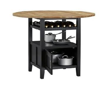 Crate & Barrel Belmont High Top Table