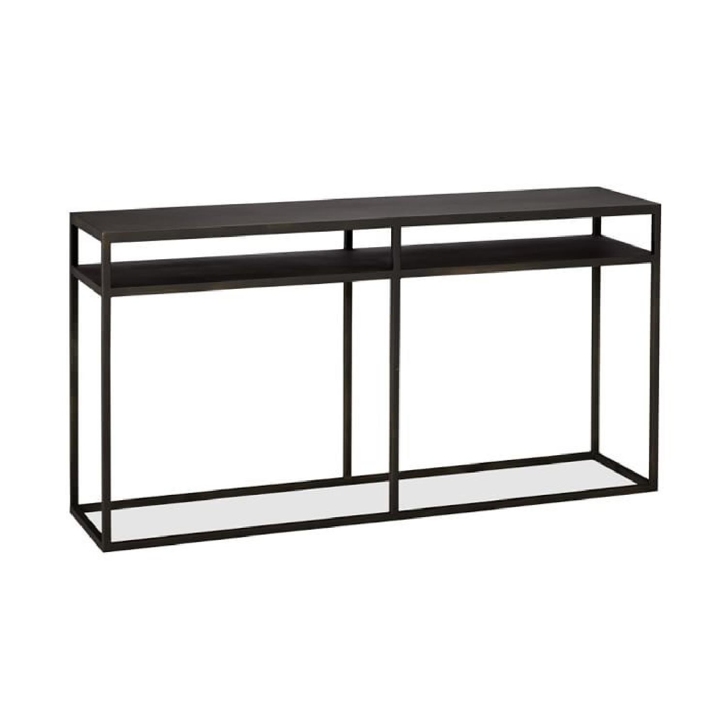 Pottery Barn Burke Console Table ...