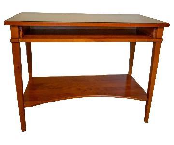 Grange Desk w/ Glass Top