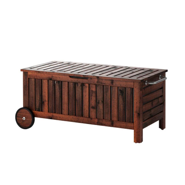 Ikea Applaro Wooden Storage Benchtable