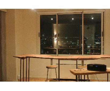 Wood Bar/Counter Table