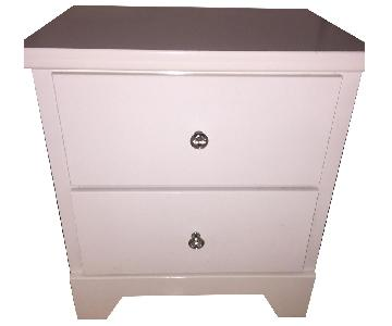 CB2 2 Drawer Nightstand