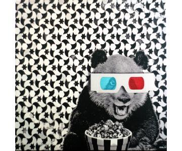 CB2 Panda Print