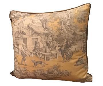 Ethan Allen Throw Pillows