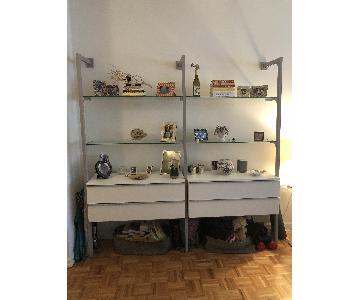Ikea Wall Unit w/ Storage