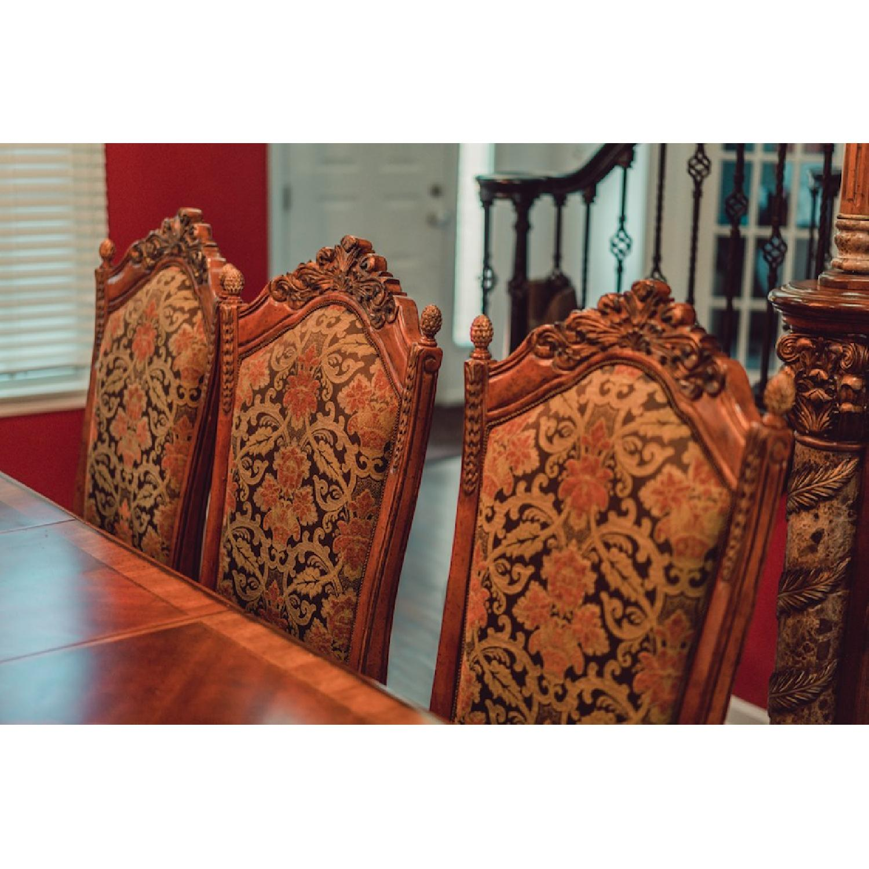 Michael Amini Villa Valencia Dining Table w/ 10 Chairs - AptDeco