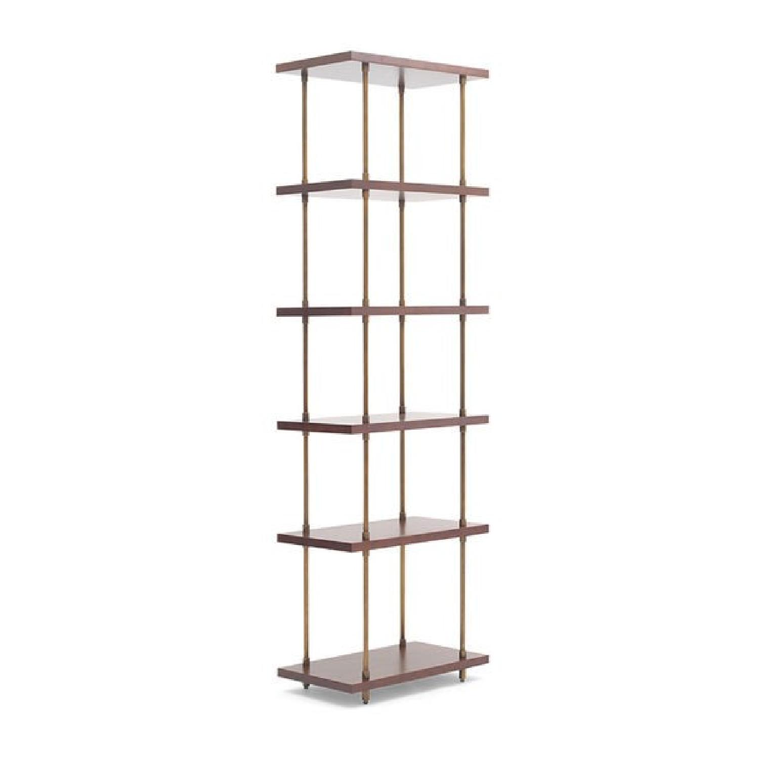 pd metal gold at furniture acme bookcase shop lowes milavera com shelf
