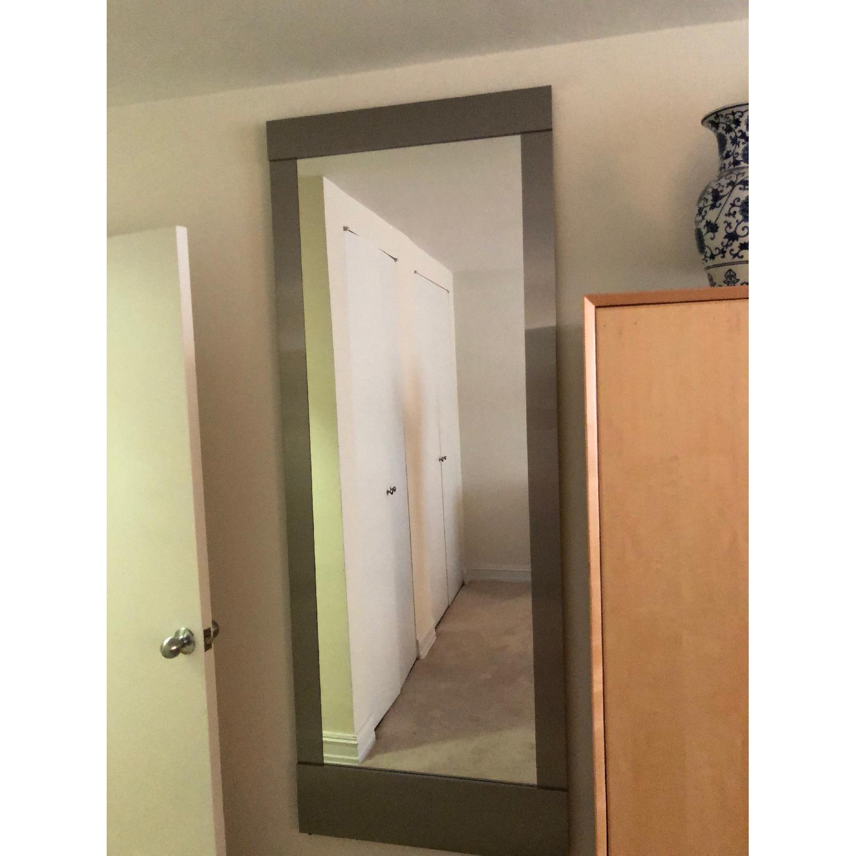 Crate & Barrel Colby Floor Mirror - AptDeco