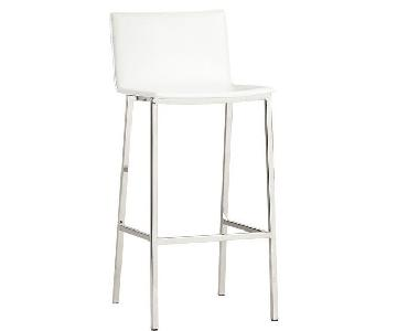 CB2 Phoenix Ivory Counter Stool