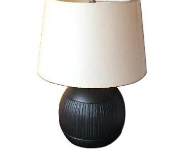 Crate & Barrel Lamps