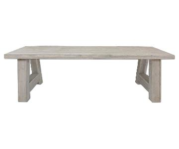 Solid Furn Wood Reclaimed Style Dining Table