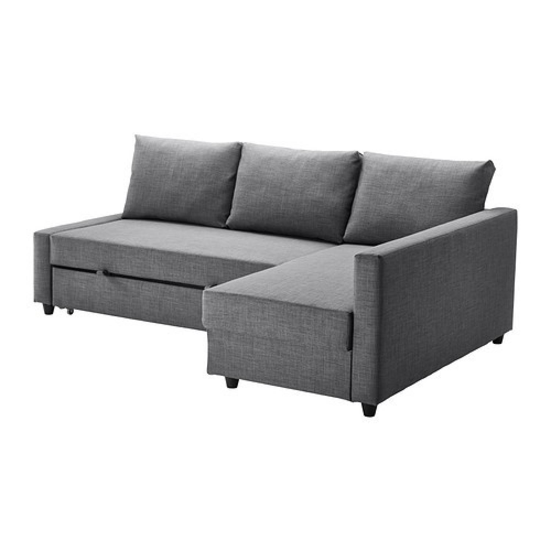 Ikea Friheten Sleeper Sectional Sofa W/ Storage ...