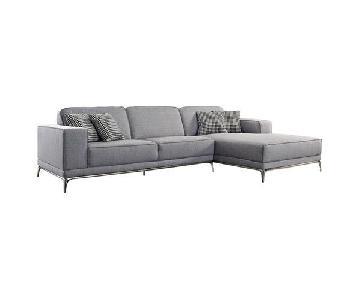 Wade Logan Matawan 2-Piece Sectional Sofa