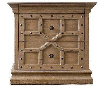 Restoration Hardware 17th C. Castell Closed Nightstand