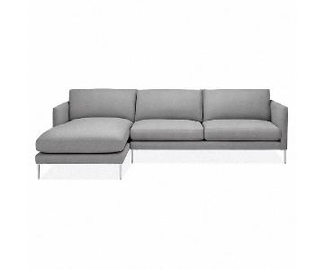 Room & Board Lamour Sectional Sofa w/ Left-Arm Chaise