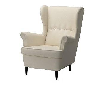 Ikea Strandmon Wingback Accent Chair