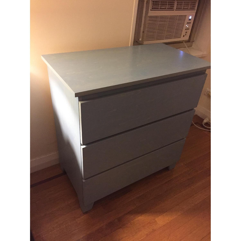 Gothic Cabinet Craft Dresser W/ 3 Drawers ...