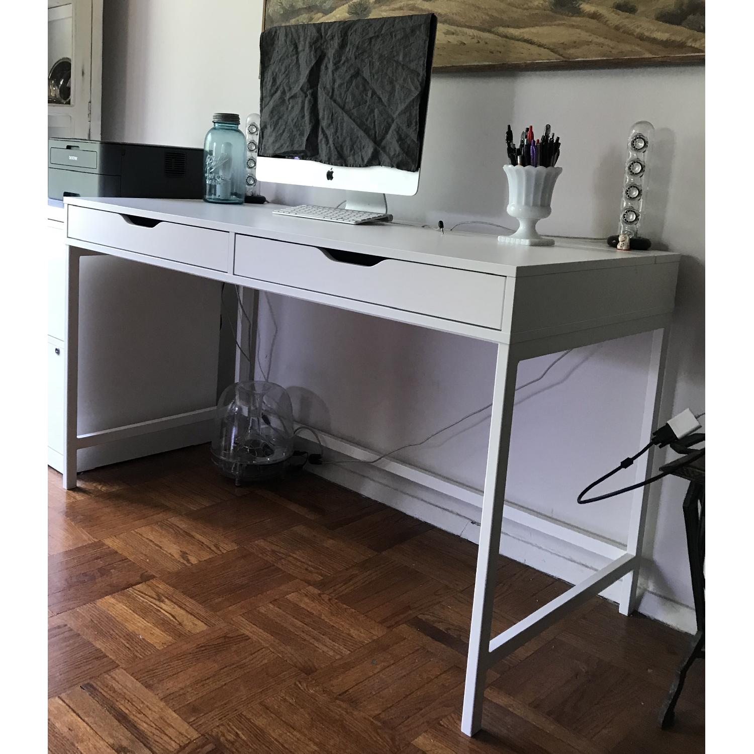 black space writing ideas corner amazing desk small home for design solution wood ikea desks