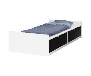 Ikea Flaxa Twin Size Storage Daybed