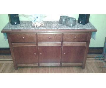 Thomasville Solid Wood Buffet/Sideboard/Media Cabinet