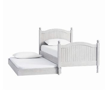 Pottery Barn Kids Catalina Twin Bed w/ Trundle