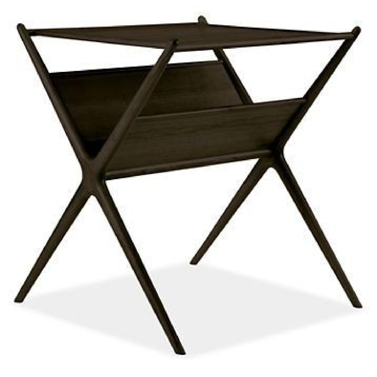 Room & Board Fitz End Table in Charcoal