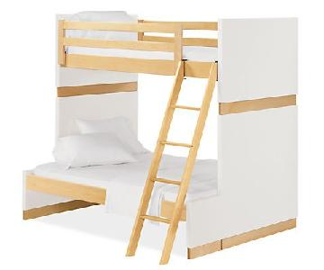 Room & Board Moda Twin Over Full Kids Bunk Bed