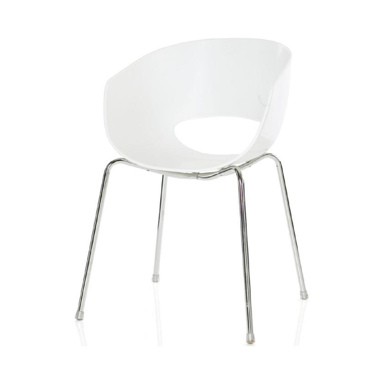 Ikea White Plastic Chair ...