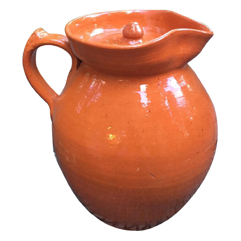 Jugtown Pottery Ben Owen's Pitcher w/ Lid