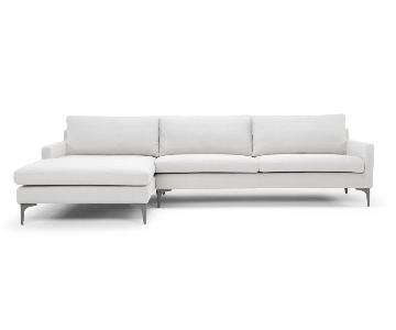 Langley Street Modern 2-Piece Sectional Sofa