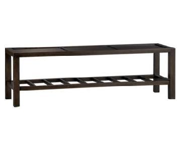 Crate & Barrel Bento Kona Bench