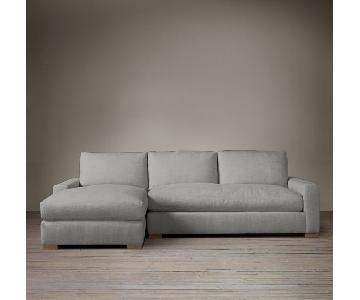 Restoration Hardware Maxwell Luxe Sectional Sofa