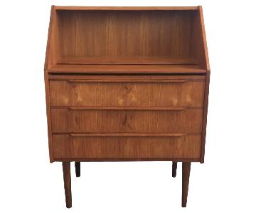 Vintage Teak Danish Desk/Secretary