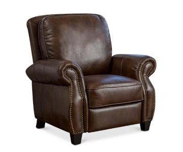 Macy's Norvil Faux Leather Recliner