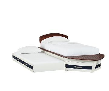 Pottery Barn Speedboat II Twin Trundle Bed